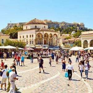 Monastiraki and Acropolis