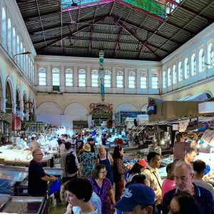 Fish and meat market