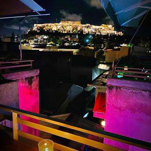 Athens rooftop bar