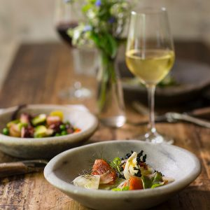 Gourmet dinner during Athens private gastronomy tour