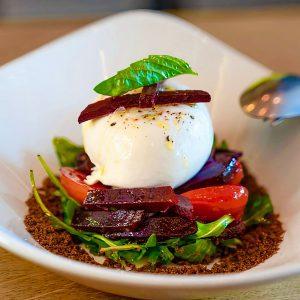 Modern Greek food