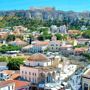 Acropolis and Athens city centre