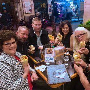 Souvlaki and gyro street food
