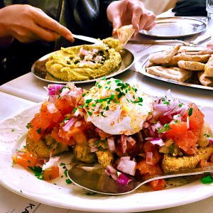 Meze dining in Athens