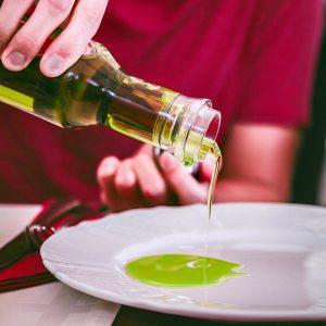 Greek olive oil tasting